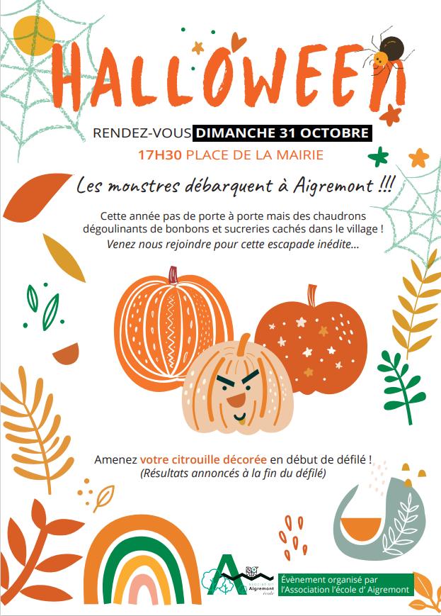 Défilé halloween Aigremont