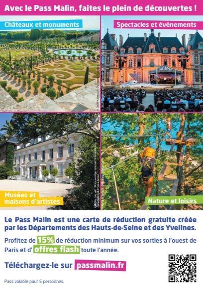 Pass malin : sortez à prix réduits à l'ouest de Paris