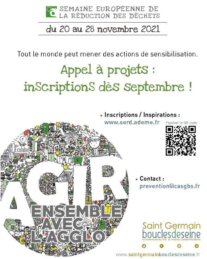 Appel à projets : Semaine européenne de la réduction des déchets