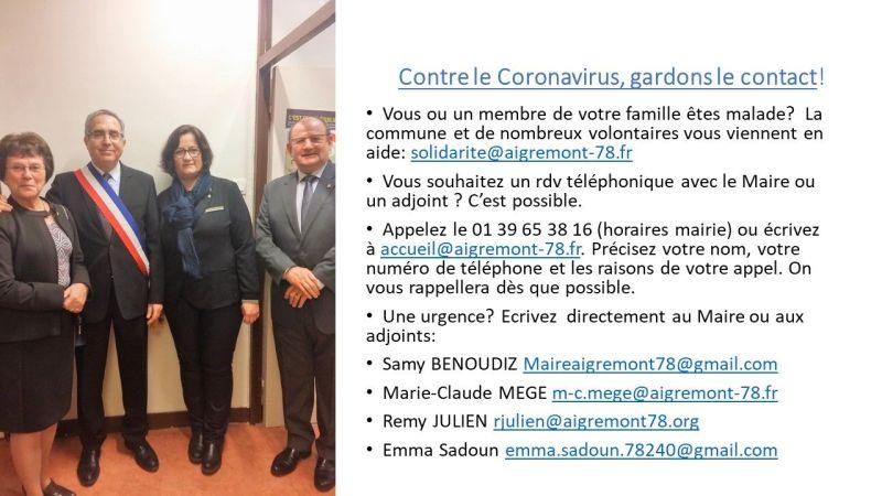Le Maire et les adjoints à votre écoute, Vous souhaitez un rdv téléphonique avec le Maire ou un adjoint ? C'est possible.