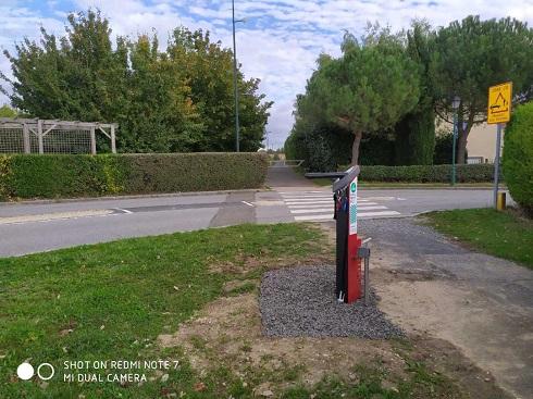 Une station de réparation vélo à Aigremont !!!!